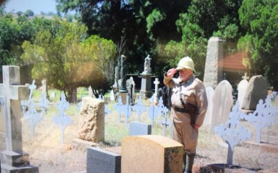 Stop 11: The Kloof Cemetery – where secrets lie…